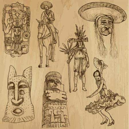 Traveling Mexico 版權商用圖片 - 22615228