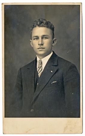 Young man - circa 1935