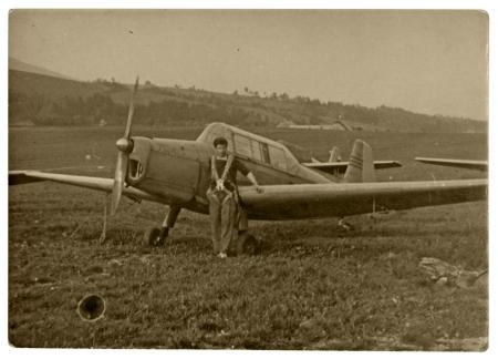 airman: pilot, aviator - circa 1965