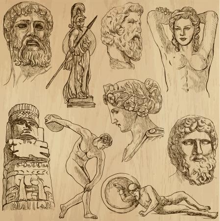 Arte nativa e vecchi in tutto il mondo set n ° 10