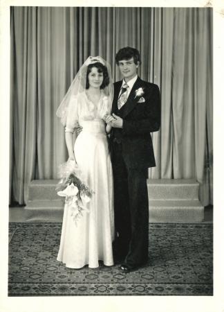 newlyweds - circa 1975