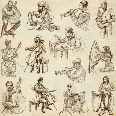 Musicians and Music around the World  set no  2, paper
