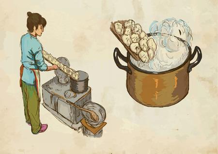 prepare: Prepare Pasta (colored pack no.2).