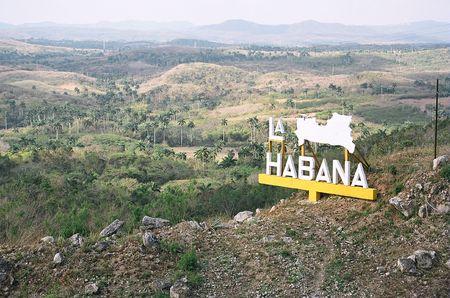 habana: Cuba, Sign La Habana, 2006