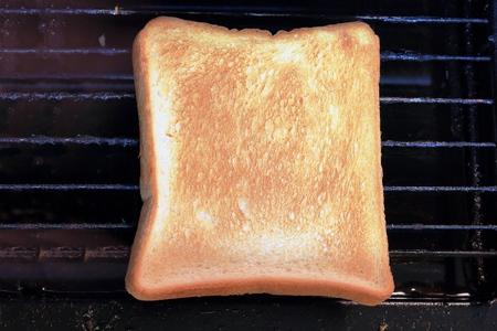 burnt toast: Burnt toast.
