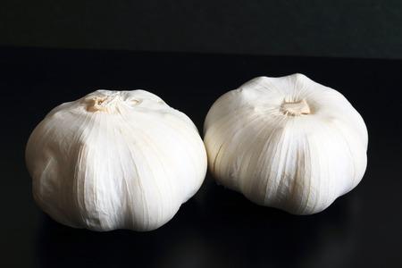 stamina: garlic Stock Photo