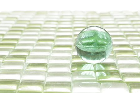 glass sphere: The glass ball is used in the toy and the interior.
