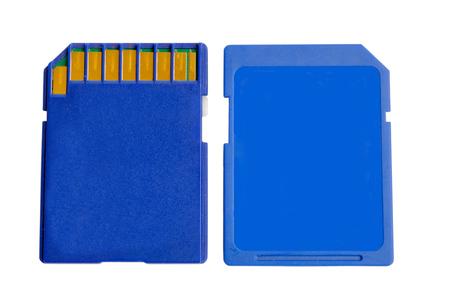 memory card: SD Memory Card. Stock Photo