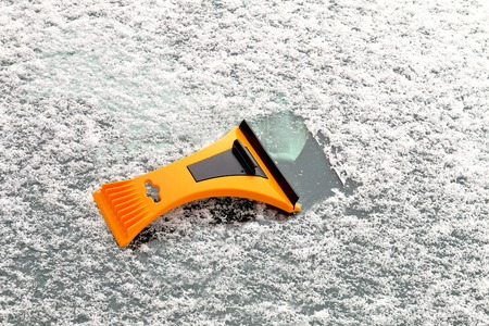 defrost: tool used to remove ice from windshield, window.