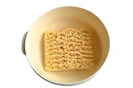 frizz: Instant noodles. Stock Photo