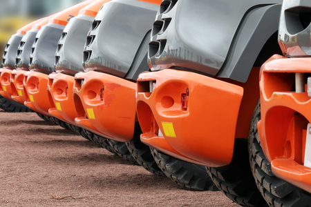 wheel loader: Wheel loader Stock Photo