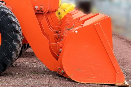 Wheel loader 写真素材