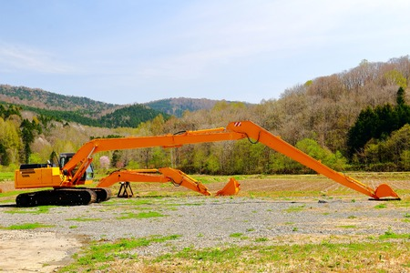 power shovel: Excavator. hydraulic excavator. power shovel.