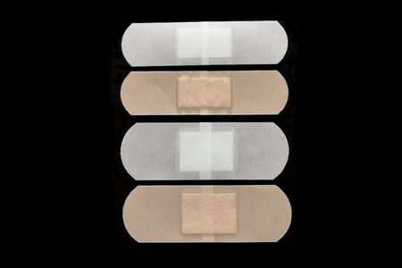 savio: sticking plaster. adhesive plaster. Stock Photo