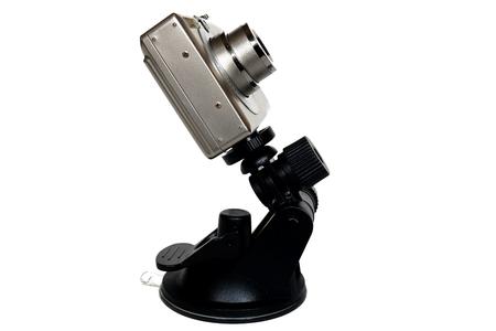 デジタル カメラとマウントします。カメラ器具。 写真素材 - 63340773