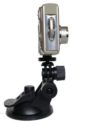 デジタル カメラとマウントします。カメラ器具。 写真素材 - 63340776