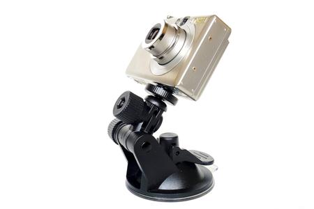 デジタル カメラとマウントします。カメラ器具。 写真素材 - 63340783