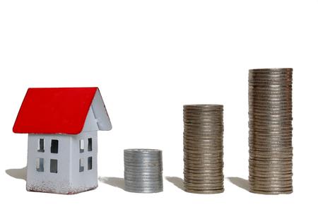 housing loan: Housing loan. Stock Photo