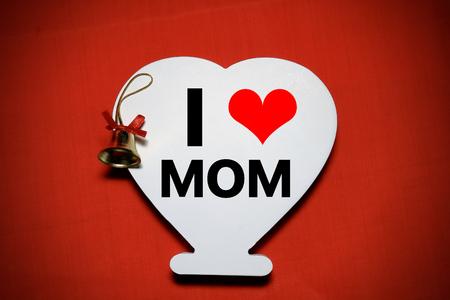 mam: I love mam Stock Photo