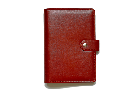 personal organiser: Personal organiser. Notebook system. Stock Photo