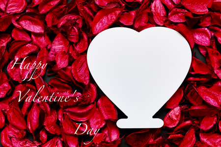 potpourri: Potpourri and heart-shaped Stock Photo