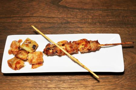 shure: Remove yakitori from skewer