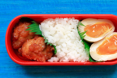 Deep-fried lunch box