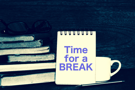 本と休憩時間