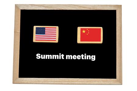 US-China summit meeting