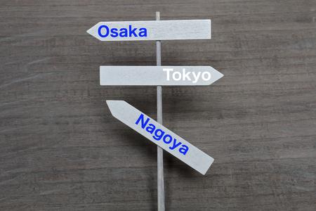 도시 표지판