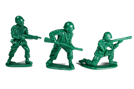 model of a soldier