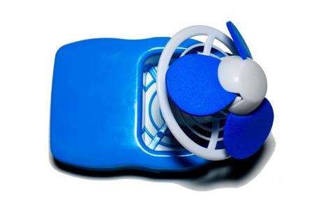 Portable fan Reklamní fotografie