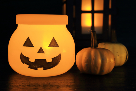 LED Halloween lantern