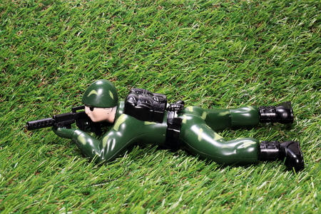 Soldier to fire (toy soldiers)
