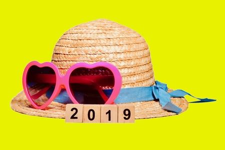 Straw Hat 2019 Stock Photo