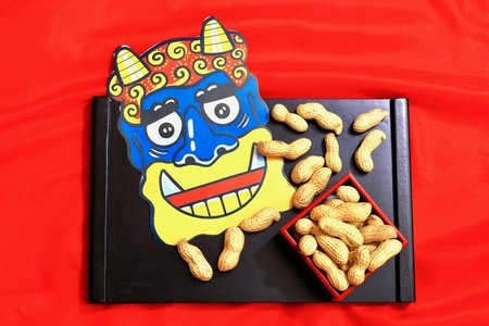 Setsubun at peanuts