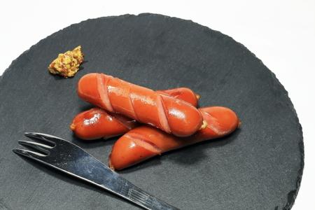 Baked wiener