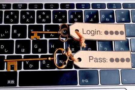 Login in and Password Banco de Imagens