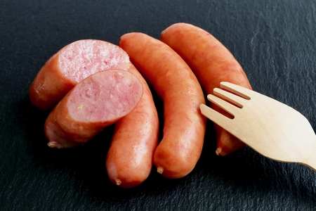 coarsely ground sausage