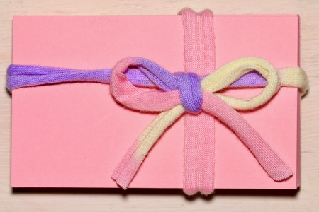 Pink gift image Banco de Imagens