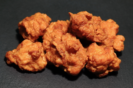 Deep-fried chicken (home cooking)