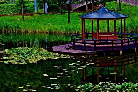 Azumaya in the park