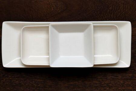 Square dish Imagens