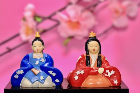 Hinamaturi Doll is what I bought at 100 yen shop. It is mass-produced. Фото со стока