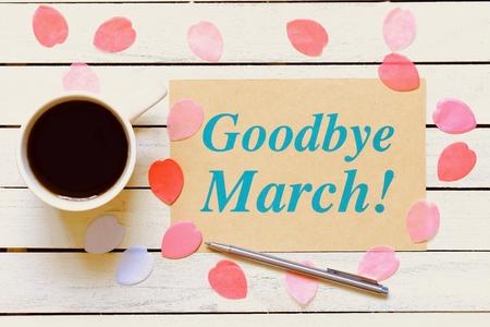 Goodbye March