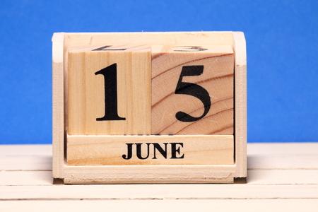 JUNE Calendar Banco de Imagens