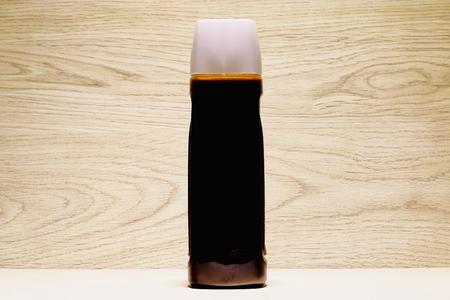 Source of Japan and Tonkatsu Sauce Stock Photo