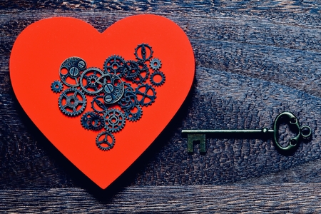 Mechanical Heart and key