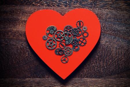 Mechanical Heart. AI Singularity