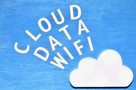 Clouds and wifi and date